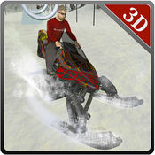 雪地车司机 - 极端的雪骑自行车和赛车模拟器游戏 1