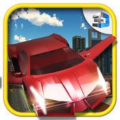 飞行汽车模拟器 - 极限飞行测试游戏 1