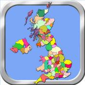 英国地图拼图 1.2