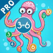 3-6岁儿童的海洋动物的数学游戏:了解数字1-20。有趣的游戏和练习幼儿园,学前班或幼儿园,海,水,鱼,甲鱼,鳗鱼,海豚和螃蟹!
