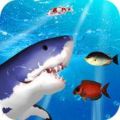水下鲨鱼3D模拟器2017:饥饿的鱼 1.1