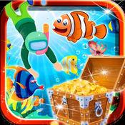 深海水族馆潜水员:冒险单机游戏 1