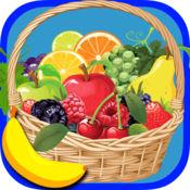 水果可打印彩图为孩子 1