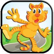 动物逃生老虎运行-最好的缤纷 & 令人上瘾的冒险游戏 1