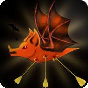 吸血蝙蝠狩猎 - 播放大爽动作包装的吸血蝙蝠拍摄和杀害街机游戏