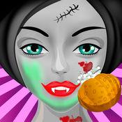 吸血鬼怪物疯狂的化妆沙龙2 - 自由女孩游戏 1.1