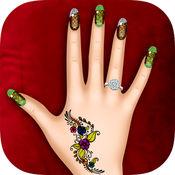 公主美甲艺术沙龙 :美甲游戏的女孩 !把你的指甲护理 1.0.1
