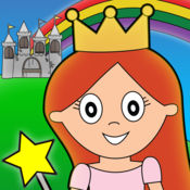公主的童话着色...