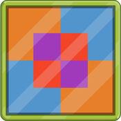 四色填充——非常有挑战性的益智解密游戏 1