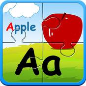朵拉学前英语字母儿童拼图游戏免费-宝宝早教英文听写读书2