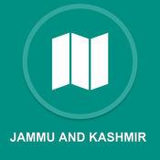 查谟和克什米尔,印度 : 离线GPS导航 1