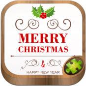 圣诞节 聖誕節祝福語 拼图游戏 1.5