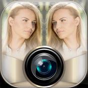镜照片展台 – 克隆和反射效应 1