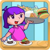 公主安娜快餐厅打工-儿童经营餐厅游戏大全免费