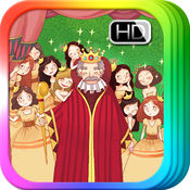 12个跳舞的公主 - 睡前 童话 故事书 iBigToy