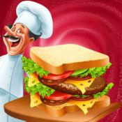 Food Court Sandwich 三明治 餐厅 争 自助餐馆 超 厨师 夺