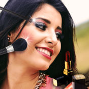 化妆沙龙照片编辑: 改頭換面應用程序的女孩 1