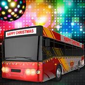 圣诞派对巴士司机3D - 真正的城市运输车模拟游戏 1