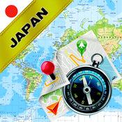 日本 - 离线地图和GPS导航仪 1.8