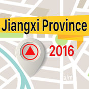 Jiangxi Province 离线地图导航和指南 1