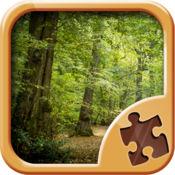森林 -拼图游戏...