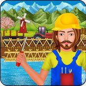 村 农场 桥梁建...
