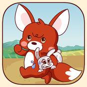 狐狸和兔子的追...