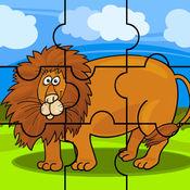 动物拼图游戏儿童小孩学习 1