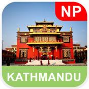 加德满都,尼泊尔 离线地图 - PLACE STARS v1.1