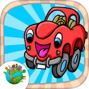 车,卡丁车和卡车 - 有趣的汽车迷你游戏为孩子们 1.3