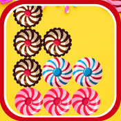 块拼图甜蜜的糖果 1