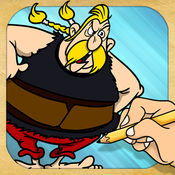 绘制和播放 对于 Asterix & Obelix