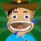 美国警察牙医躁狂症 - 疯狂的牙医师游戏 1.4
