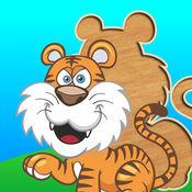 为孩子们可爱的拼图 - 学步益智游戏,儿童学龄前学习 1.3
