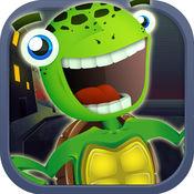 可爱的乌龟能跳 - 快乐动物弹跳(免费) 1