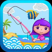 儿童全民钓鱼发烧友2破解版-小朋友玩的益智单机游戏免费2-
