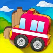 拼图游戏:儿童玩具车 1.2