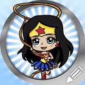 画画的女超级英雄 1