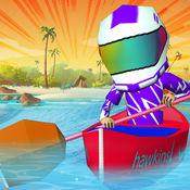 玩小船高峰 - 玩小船喷气机滑雪赛跑为孩子 1