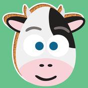 玩农场动物游戏-为学龄前儿童而设的ABC拼图游戏 免费 1
