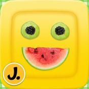 Cute Food - 使用水果和蔬菜获得有创意的乐趣,为儿童准备健