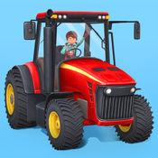 小小农场主-为儿童设计的拖拉机、收割机和农场动物 1.5