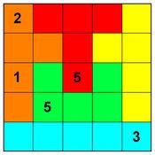 变形数独5 - 拼图 数独 5x5 2.1