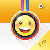 Emoji卖萌相机 Pro-萌萌哒的自拍表情神器。