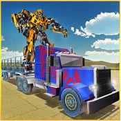 机器人运输 - 大型拖车卡车模拟器3D 1