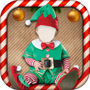 圣诞服饰的孩子 1