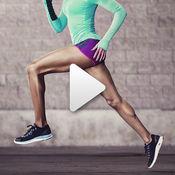 健身&锻炼:课程和视频课程的女孩