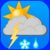 雷暴,天气预报 1