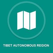 西藏自治区 : 离线GPS导航 1