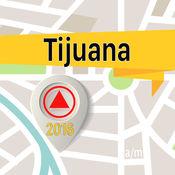 蒂華納 离线地图导航和指南 1